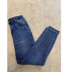 toxik toxik jeans blauw, Mom-jeans
