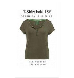 Z ONE Z-one t-shirt khaki