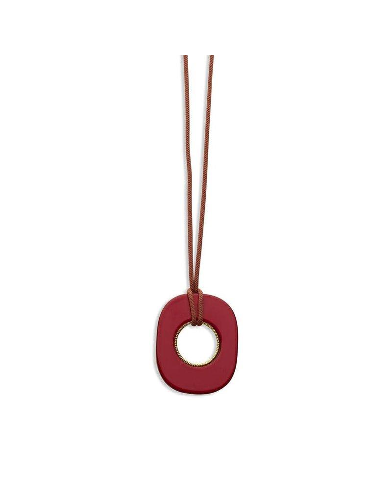 Les Cordes LC Daura collier Vieux Rose