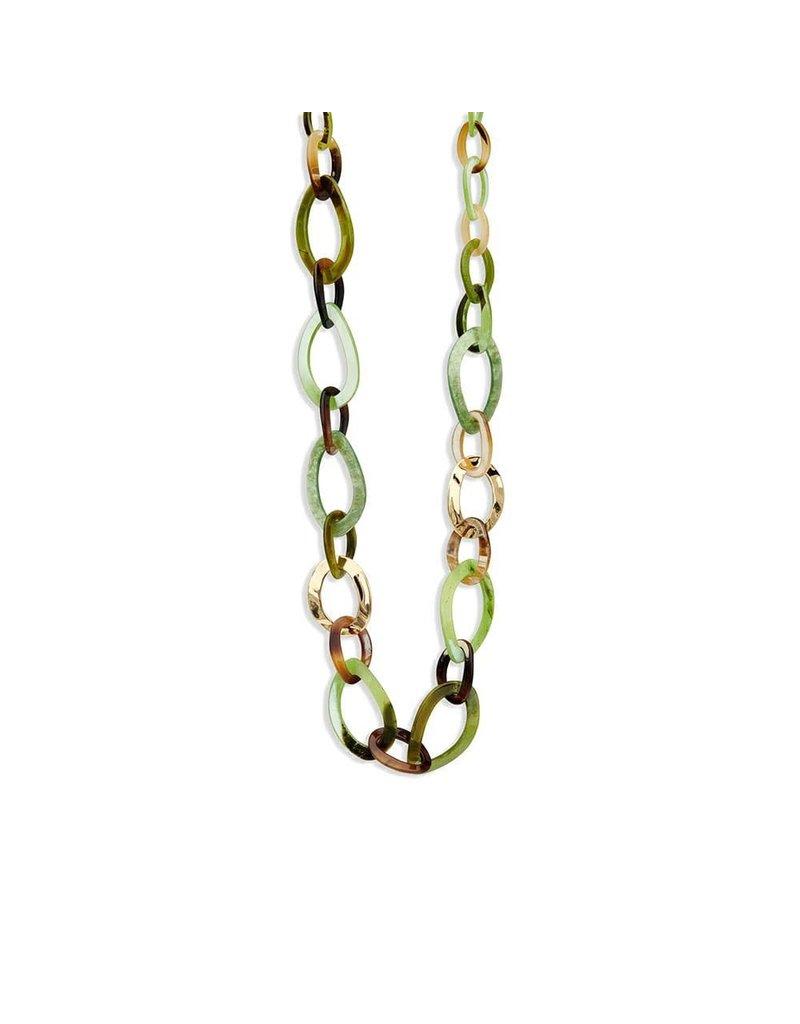 Les Cordes LC Konita collier Groen