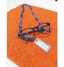 Les Cordes LC GLASSCHAIN1 Jeansblauw