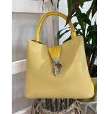 Potri Fashion HandtasPF539 geel