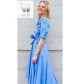 92153 DRESS CIEL TU BLUE