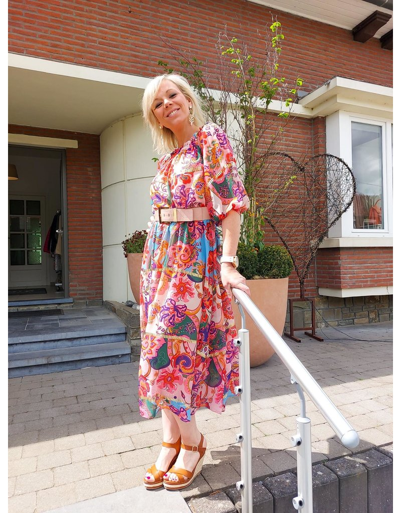 CTN DRESS EBLISE FUSHIA