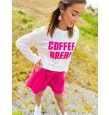 DOLCEC Pull COFFEE BREAK - WIT