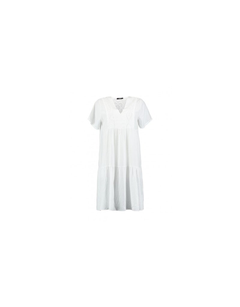 Zabaione DRESS KILA WHITE