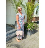 Julie Mode Dress Romy - Blauw Roos
