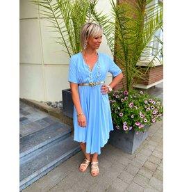 KOSTO FASHION Dress Zina - Blauw TU