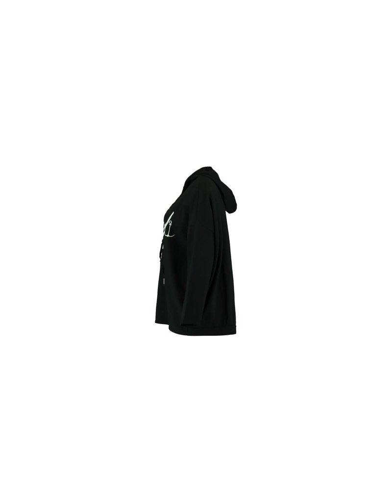 Zabaione HOODIE TINA - BLACK