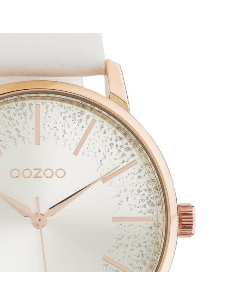 OOZOO OOZOO C10715 wit met rosé goud