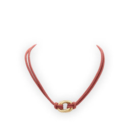 Les Cordes LC Dayan collier Vieux Rose