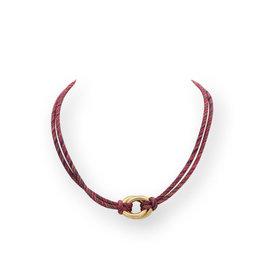 Les Cordes LC Dayan collier Multi Fushia