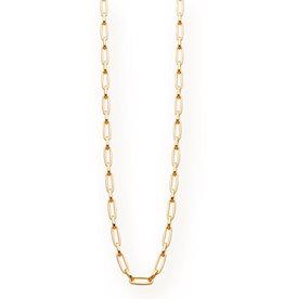 Les Cordes LC DIARALANG collier Goudkleurig