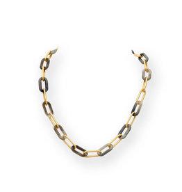 Les Cordes LC Doas collier Grijs/Goud