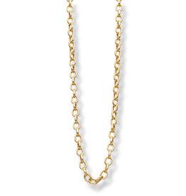 Les Cordes LC Dudulang collier goudkleurig