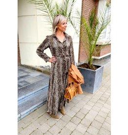 CTN CY2299 jurk met print