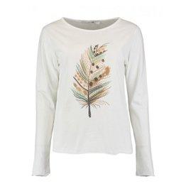 Hailys T-shirt SVENJA WHITE