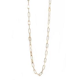 Les Cordes LC DOAS LANG collier Beige/goud