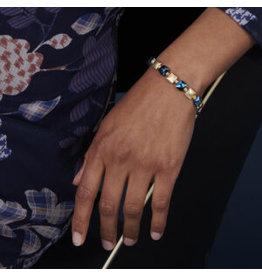Les Cordes LC PAN43 armband Blauw