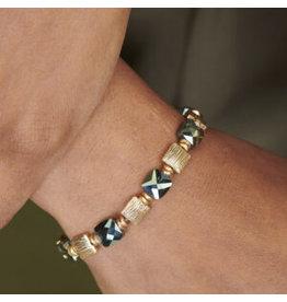 Les Cordes LC PAN43 armband Kaki