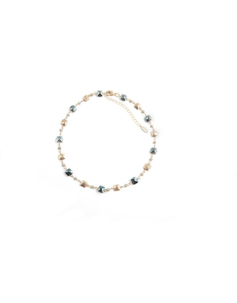 Les Cordes LC PAN43 collier Kaki