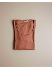 Unaduna Women's longsleeve - sienna clay
