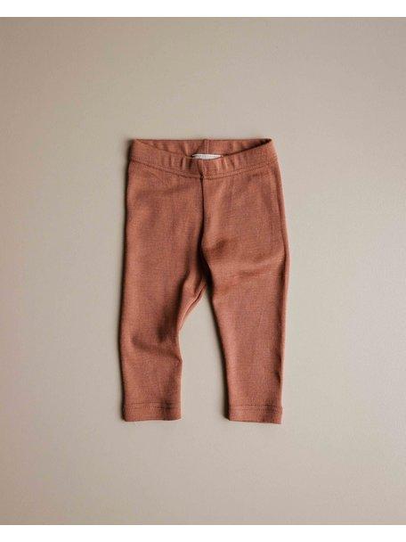 Unaduna Baby legging - sienna clay