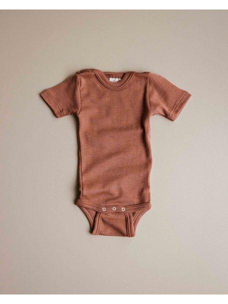 Unaduna Romper short sleeves - sienna clay