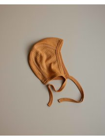 Unaduna Baby bonnet - inca gold