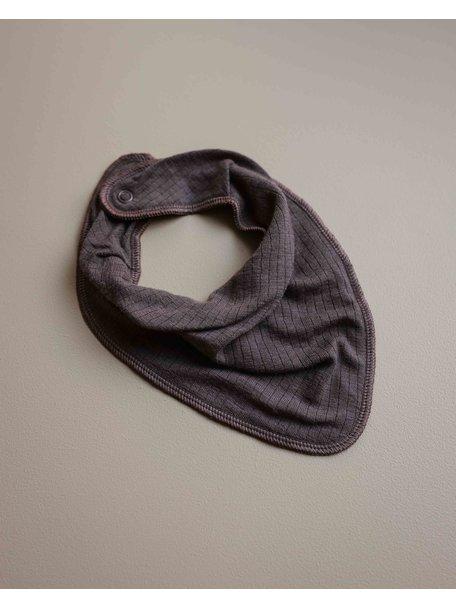 Unaduna Bib scarf - deep taupe