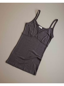Unaduna Women's chemise - deep taupe