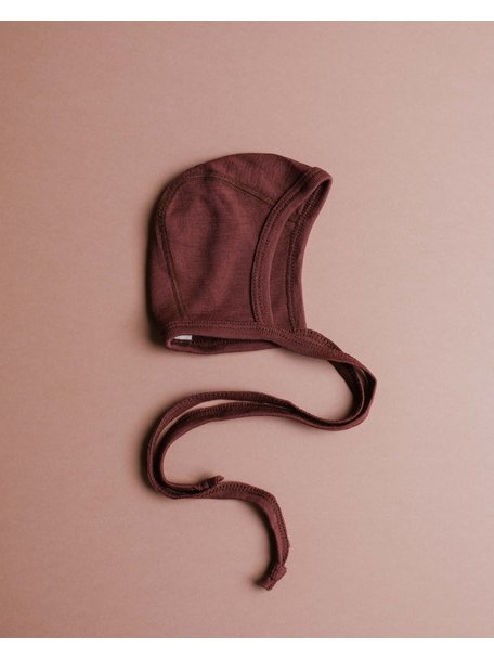 Unaduna Baby bonnet - henna dune