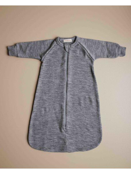 Unaduna Sleeping bag merino wool - gray