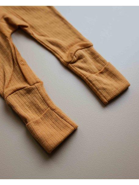 Unaduna  Jumpsuit of wool -  inca gold