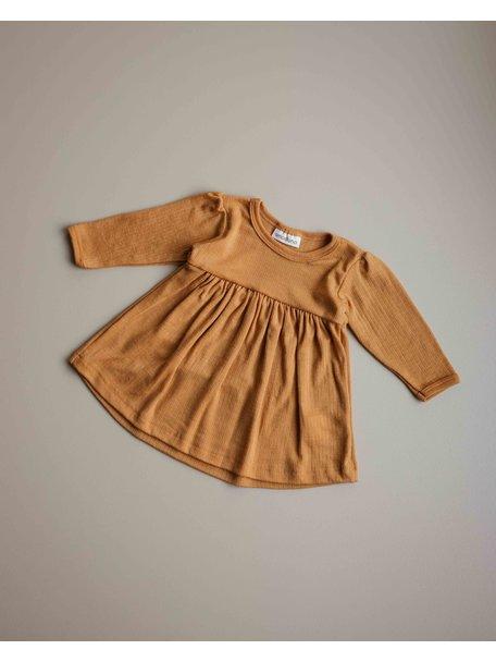 Unaduna  Dress - inca gold