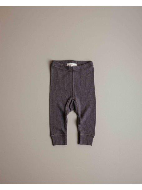 Unaduna Baby legging - deep taupe