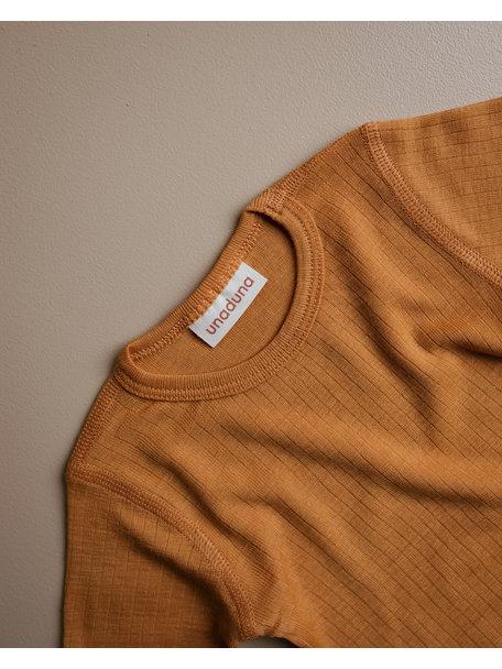 Unaduna Shirt longsleeve - inca gold