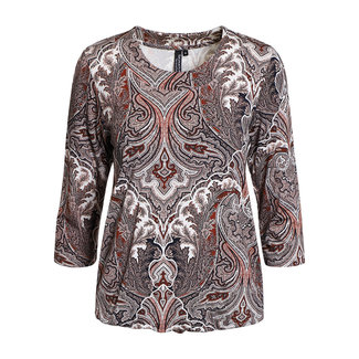 outlet Shirt met Print Signature 209955-14404
