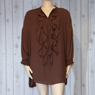 outlet Blouse Bruin Only-M