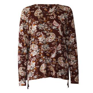 outlet Shirt Bruin met print No Secret 2008 2 1579