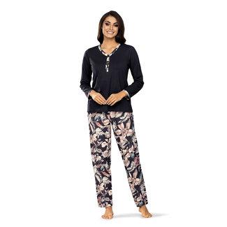 Ascafa Pyjama gebloemd Ascafa A 2023.18