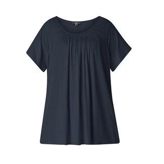 Base Level Curvy by Yesta Shirt Yokia Donkerblauw A31572 Yesta