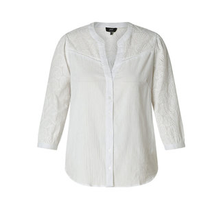 Yesta Blouse Heaveney Wit A000697 Yesta