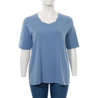 Via Appia Due Shirt L.blauw 811010850 via Appia Due