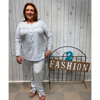 Comtessa Pyjama print Blauw Comtessa 2023.22