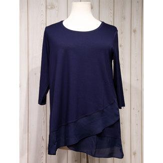 Via Appia Due Shirt D.blauw 611020 820 Via Appia Due
