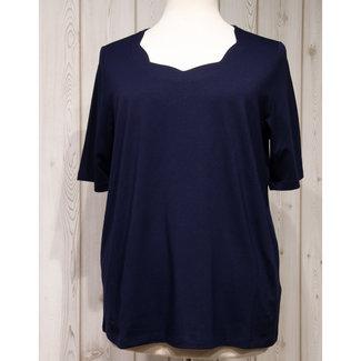 Via Appia Due Shirt D.blauw 811010820 via Appia Due