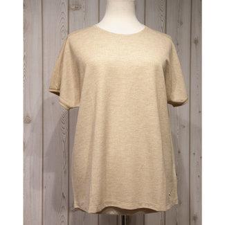 Frapp Shirt Beige goud 2101 201 Frapp