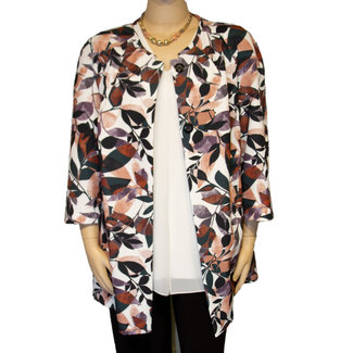 outlet Vest print rose 8518 Verpass
