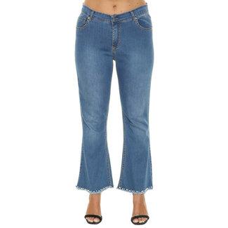 outlet Jeans bootcut parels Sophia Curvy
